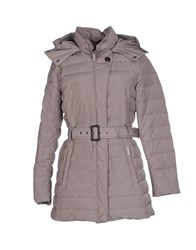 Woolrich Down Jackets Dove Grey