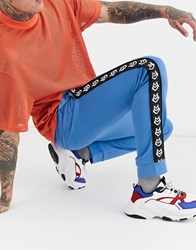 Love Moschino Taped Joggers Blue