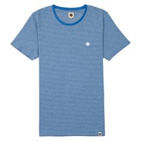 Pretty Green Feeder Striped T Shirt Navy