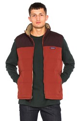Patagonia Reversible Bivy Down Vest Red