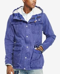 Denim And Supply Ralph Lauren Canvas Hiking Jacket Bright Navy