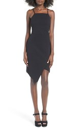 June And Hudson Women's Textured Body Con Dress Black