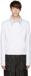 Telfar White Wrap Shirt