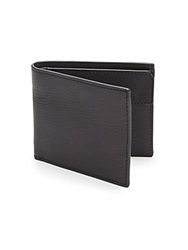 John Varvatos Leather Billfold Black