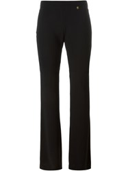 Versace Collection Bootcut Trousers Black