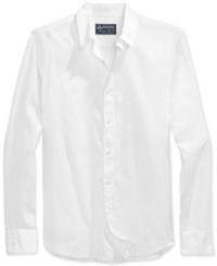 American Rag Long Sleeve Linen Shirt Only At Macy's Bright White