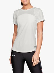 Under Armour Speed Stride Mesh Short Sleeve Running Top White