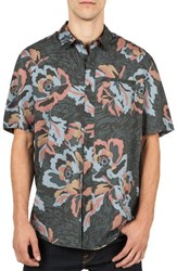 Volcom Men's Cubano Cotton Blend Woven Shirt