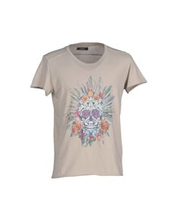 Gaudi' Topwear T Shirts Men Light Grey