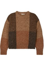 The Row Didion Cashmere And Silk Blend Sweater Brown