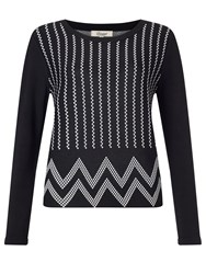 Alice By Temperley Somerset By Alice Temperley Jacquard Top Black
