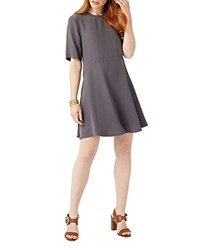 Phase Eight Zola Swing Dress Charcoal
