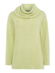 Tigi Cowl Neck Jumper Green