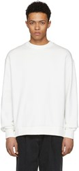 D By D White X String Sweatshirt