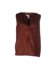 Gold Case Coats And Jackets Faux Furs Cocoa