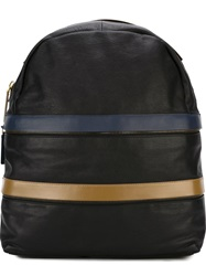 Marni Zip Detail Backpack Black