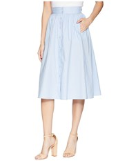 Astr The Label Shayla Skirt French Blue