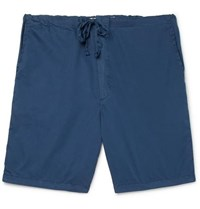 Cleverly Laundry Cotton Shorts Navy