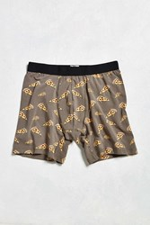 Urban Outfitters Pizza Boxer Brief Black