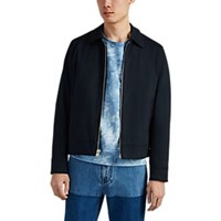 Rag And Bone Garage Cotton Jacket Navy