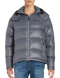 Marmot Hooded Down Coat