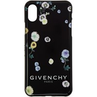 Givenchy Black Bloom Iphone Xs Case