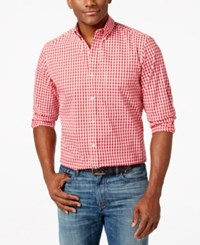 Club Room Regent Gingham Long Sleeve Shirt Only At Macy's Fire