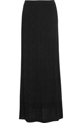 M Missoni Crochet Knit Maxi Skirt