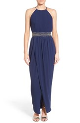 Women's Tfnc 'Serene' Pleated Maxi Gown