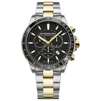 Raymond Weil 8570 Sp1 20001 'S Tango Chronograph Date Two Tone Bracelet Strap Watch Silver Gold
