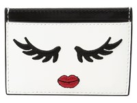 Alice Olivia Winking Stace Face Card Case Multi Credit Card Wallet