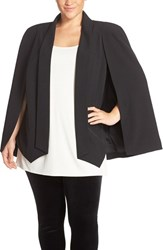 Plus Size Women's Adrianna Papell Draped Sleeve Blazer