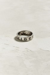 Urban Outfitters Uo Vibes Ring Silver