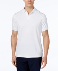 Club Room Performance Polo Shirt Only At Macy's Bright White