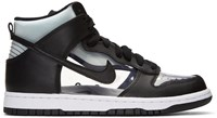 Comme Des Garcons Homme Plus Black Nikelab Edition Dunk Hi Retro Invisible High Top Sneakers