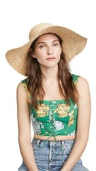 Hat Attack Ultimate Sunhat Natural Beaded Trim