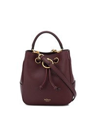 Mulberry Hampstead Bucket Bag Red