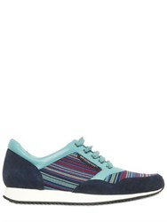 United Nude Nappa Suede And Elastic Running Sneakers