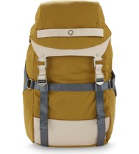 Stighlorgan Plato Nylon Laptop Backpack Yellow