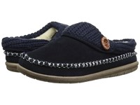 Foamtreads Annalise Navy Women's Slippers