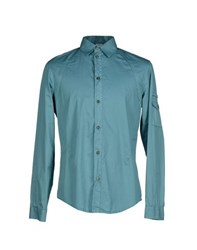 Gianfranco Ferre Gf Ferre' Shirts Shirts Men Slate Blue