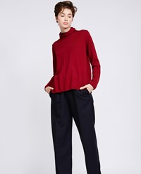 Aspesi Wool Sweater Dark Red