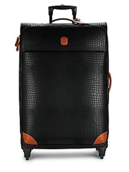 Bric's My Safari Leather Packing Case Black