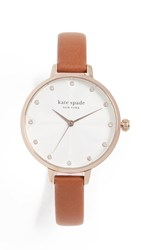 Kate Spade New York Metro Watch 34Mm Brown