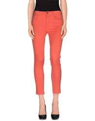Kaos Jeans Trousers Casual Trousers Women Coral
