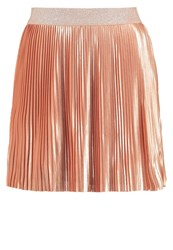 Noisy May Nmaba Pleated Skirt Dusty Coral