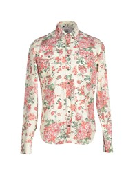 Dekker Shirts Shirts Men Ivory