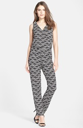 Tart 'Rhody' Print Jersey Jumpsuit Tribal Diamond