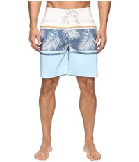 Rip Curl Trimmer Lay Day Boardshorts Blue Grey Men's Swimwear