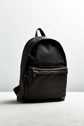 Urban Outfitters Uo Vegan Leather Backpack Black